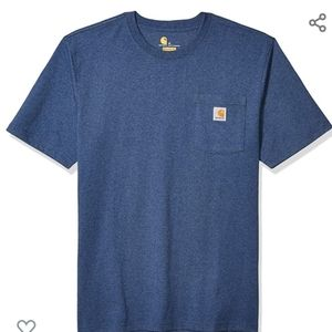 Carhartt Dark Colbat Blue Heather short sleeve L